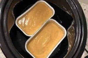 Loafs of Pumpkin Bread in Crock Pot