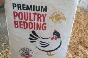 A Bag of Poultry Bedding