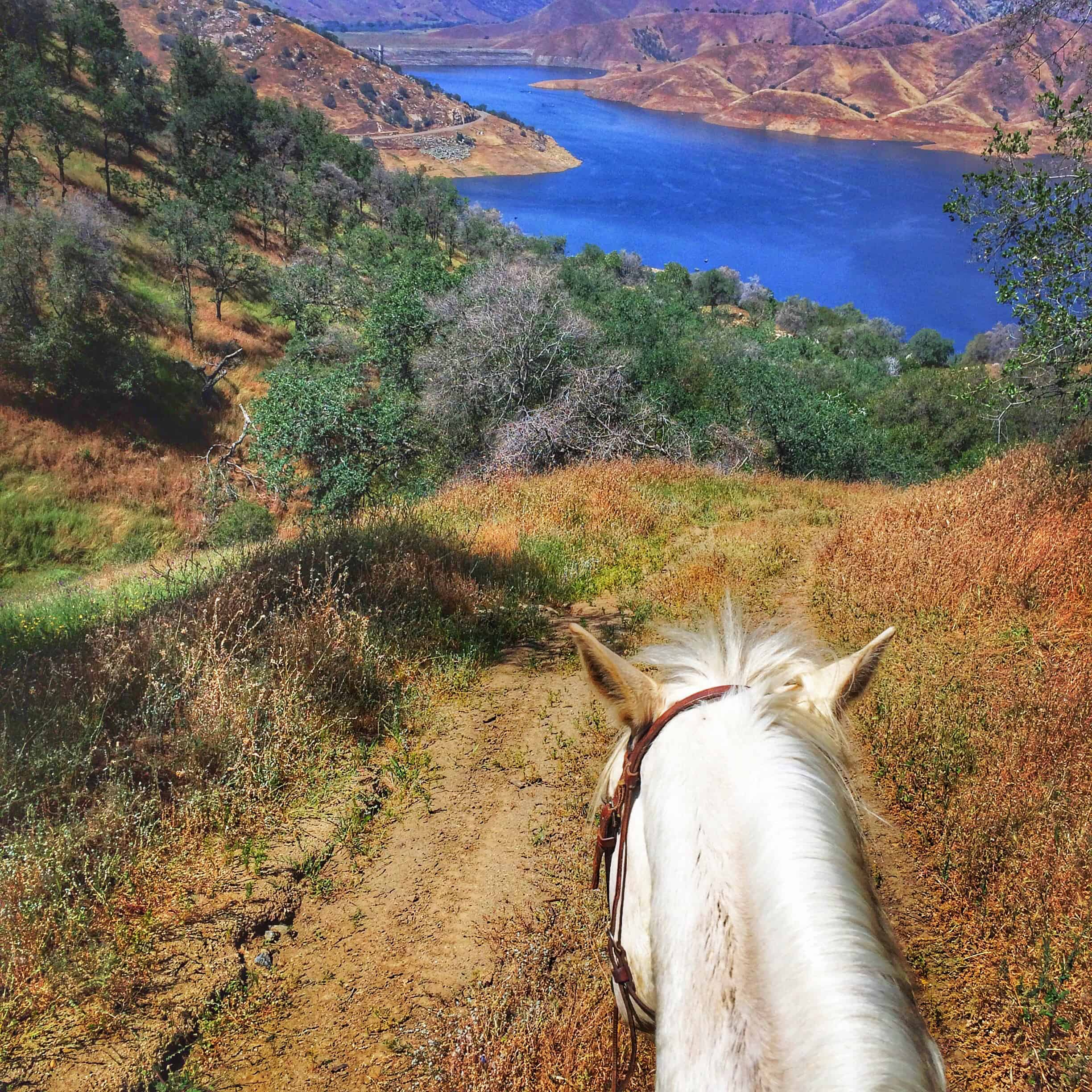A View of Lake Kaweah from the Ranch