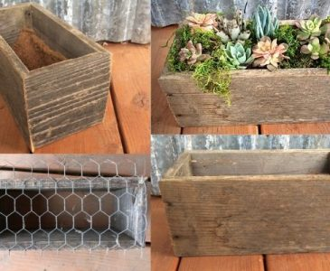Process of Making a Wooden Planter Box