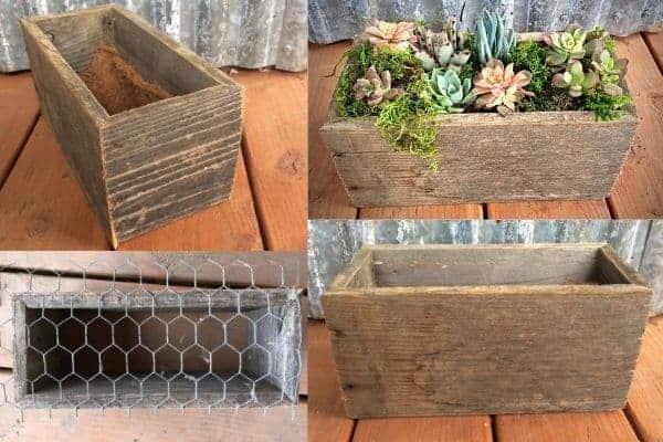 An Easy DIY Wooden Planter Box