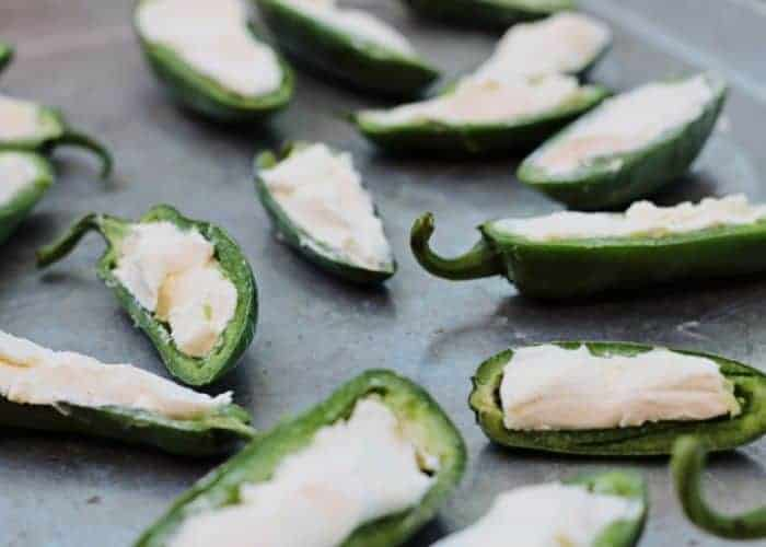 Jalapeños Stuffed With Cream Cheese