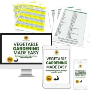 Cover Image for Online Digital Course, Vegetable Gardening Made Easy