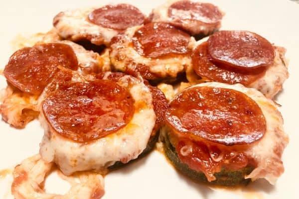 Delicious Zucchini Pizza Bites