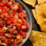 Homemade Salsa With Fresh Tomatoes